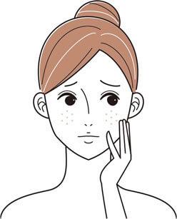 産後骨盤矯正の施術写真