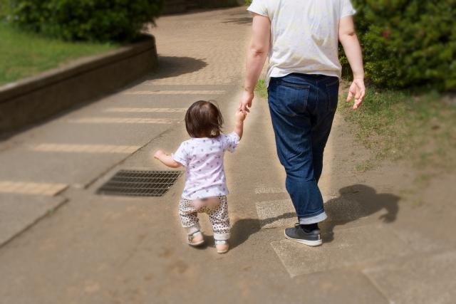 歩くときの姿勢