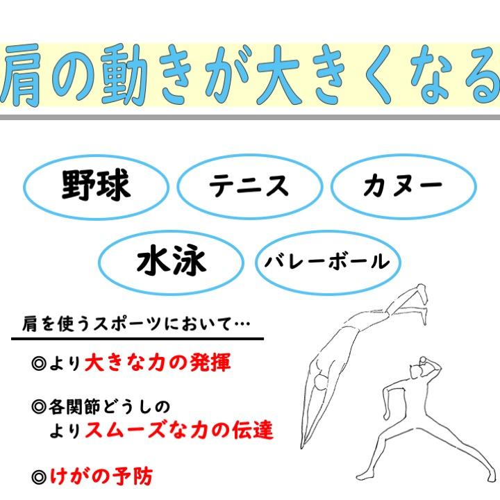 肩の可動域改善