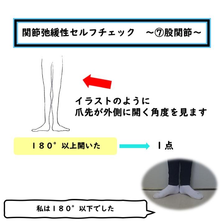 股関節の関節弛緩性