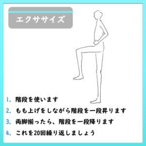 下肢筋のエクササイズ