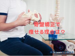 骨盤矯正で痩せる理由